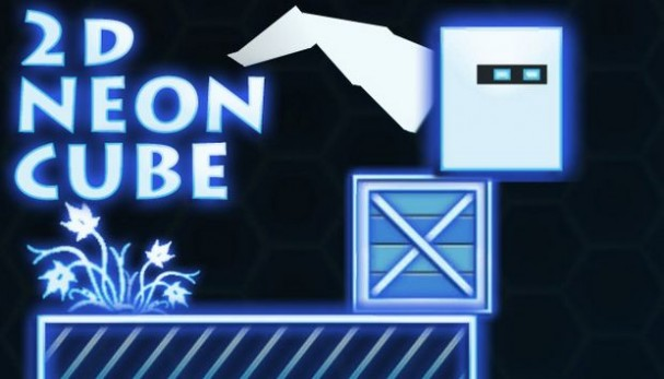2D Neon Cube Free Download