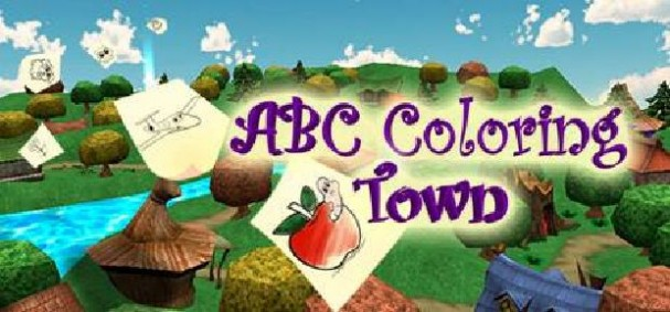 ABC Coloring Town Free Download