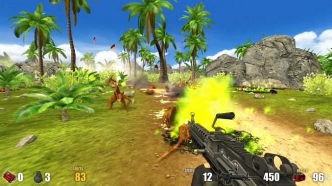 Action Alien: Tropical Mayhem PC Crack