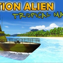 Action Alien: Tropical Mayhem Game Free Download