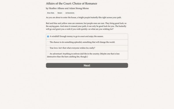 Affairs of the Court: Choice of Romance PC Crack