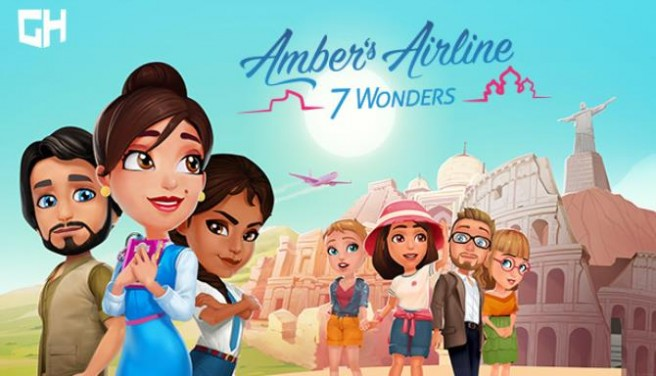 Amber's Airline - 7 Wonders Free Download