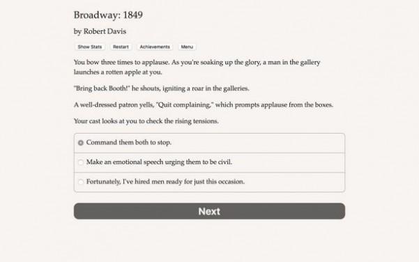 Broadway: 1849 Torrent Download