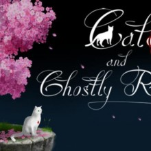 Cat and Ghostly Road Game Free Download