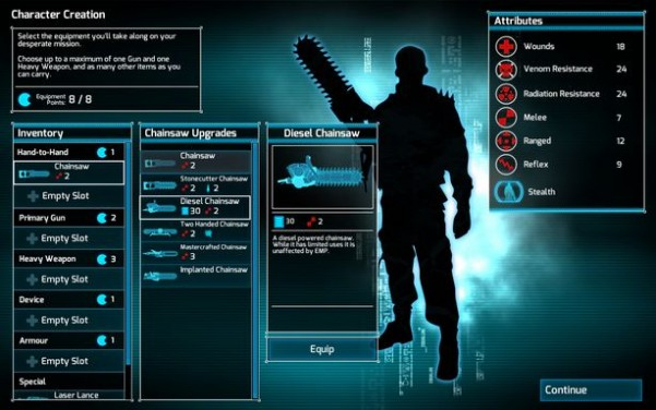 Chainsaw Warrior: Lords of the Night PC Crack