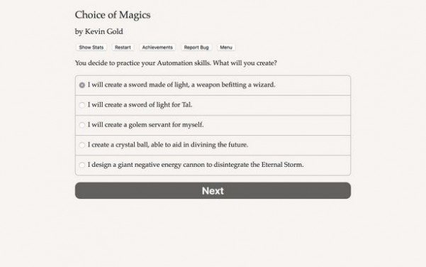 Choice of Magics Torrent Download