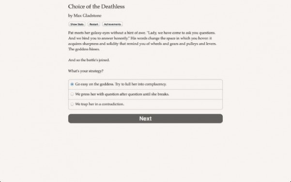 Choice of the Deathless Torrent Download
