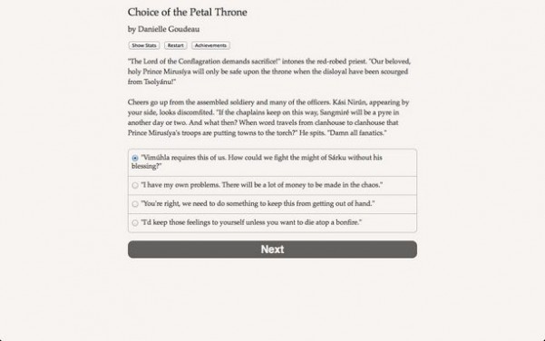 Choice of the Petal Throne Torrent Download