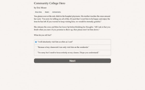 Community College Hero: Trial by Fire Torrent Download