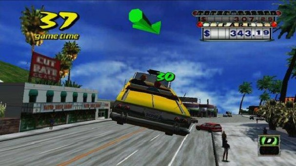 Crazy Taxi PC Crack