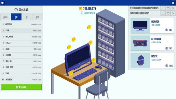 Cryptocurrency Clicker PC Crack