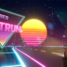 Cyber OutRun Game Free Download