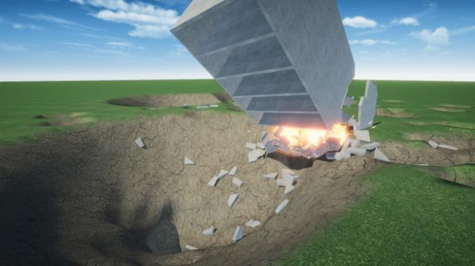 Destructive physics: destruction simulator PC Crack