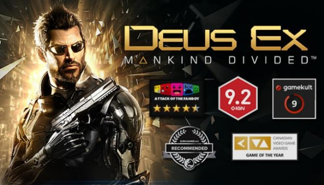 Deus Ex: Mankind Divided Free Download