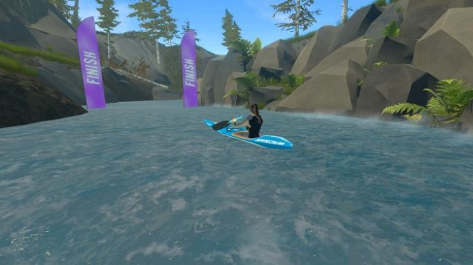 DownStream: VR Whitewater Kayaking PC Crack