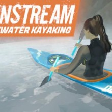 DownStream: VR Whitewater Kayaking Game Free Download