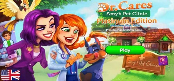 Dr. Cares - Amy's Pet Clinic Platinum Edition Free Download