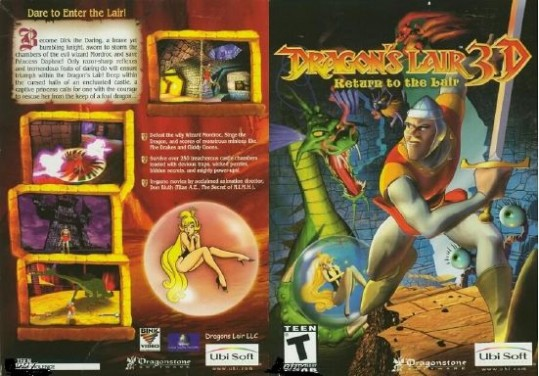 Dragon's Lair 3D: Return to the Lair Free Download
