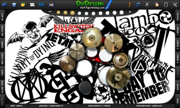DvDrum, Ultimate Drum Simulator! PC Crack