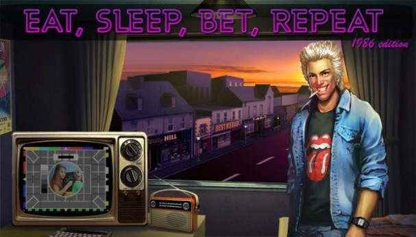 Eat, Sleep, Bet, Repeat Free Download