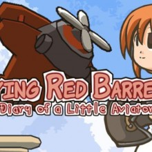 Flying Red Barrel - The Diary of a Little Aviator Game Free Download