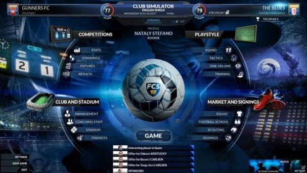 Football Club Simulator 18 Final Race PC Crack
