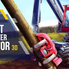 Forest Harvester Tractor 3D Game Free Download