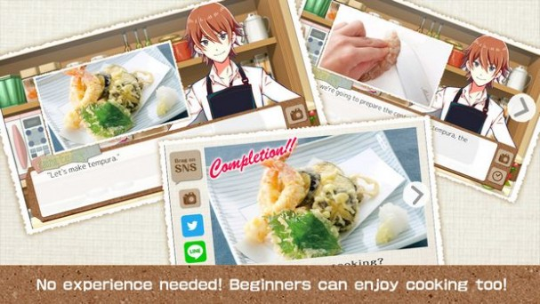 Gochi-Show! for Girls -How To Learn Japanese Cooking Game- PC Crack