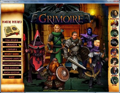 Grimoire : Heralds of the Winged Exemplar Torrent Download