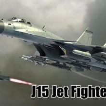 J15 Jet Fighter VR (歼15舰载机) Game Free Download