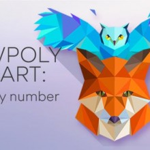 LowPoly 3D Art Paint by Number Game Free Download