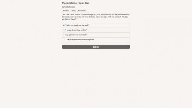 Machinations: Fog of War Torrent Download