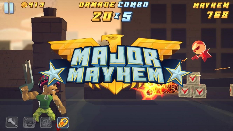 Image result for Major Mayhem game