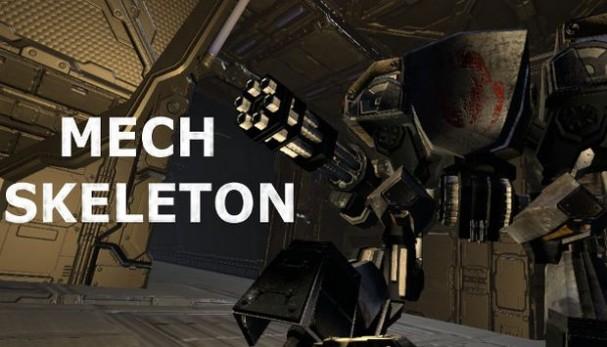 Mech Skeleton Free Download