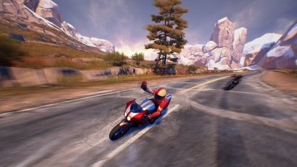 Moto Racer 4 - Sliced Peak PC Crack