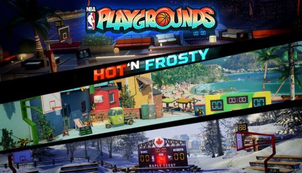 NBA Playgrounds - Hot N Frosty Free Download