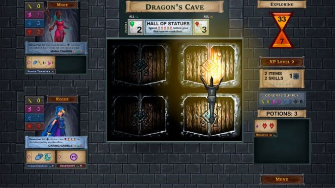 One Deck Dungeon PC Crack