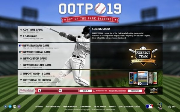 Out of the Park Baseball 19 Torrent Download