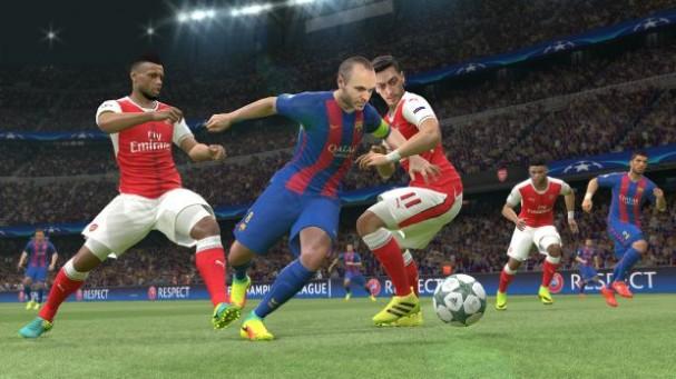 Pro Evolution Soccer 2017 PC Crack