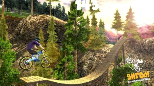 Shred! Downhill Mountain Biking PC Crack