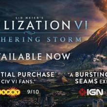 Sid Meier's Civilization VI: Gathering Storm (v1.0.0.317) Game Free Download