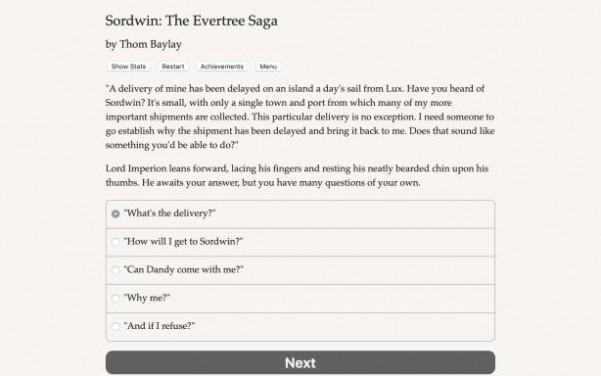 Sordwin: The Evertree Saga Torrent Download
