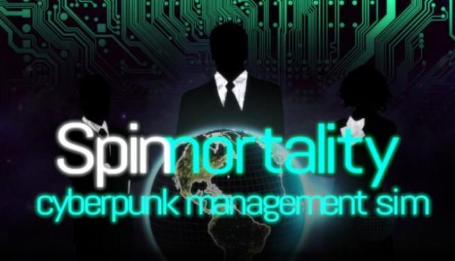 Spinnortality   cyberpunk management sim Free Download