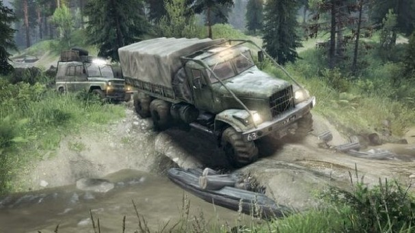 SPINTIRES PC Crack