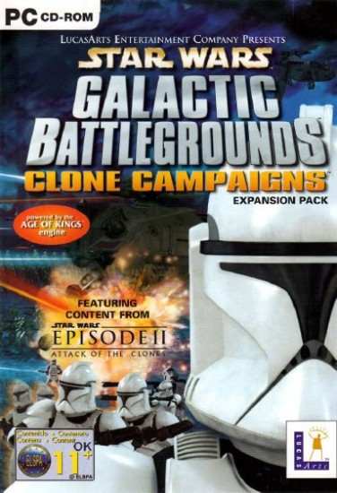 Star Wars Galactic Battlegrounds: the Clone Campaigns Free Download