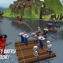 Stupid Raft Battle Simulator Game Free Download
