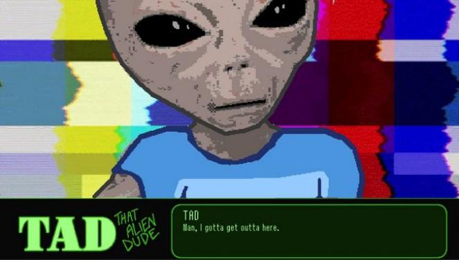 TAD: That Alien Dude PC Crack