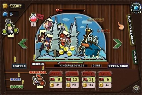 Tap Heroes PC Crack