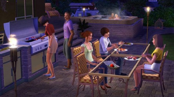 The Sims 3 Outdoor Living Stuff PC Crack
