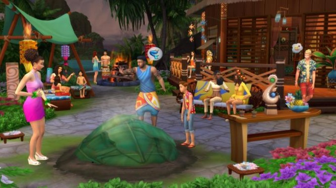 The Sims 4 Island Living PC Crack